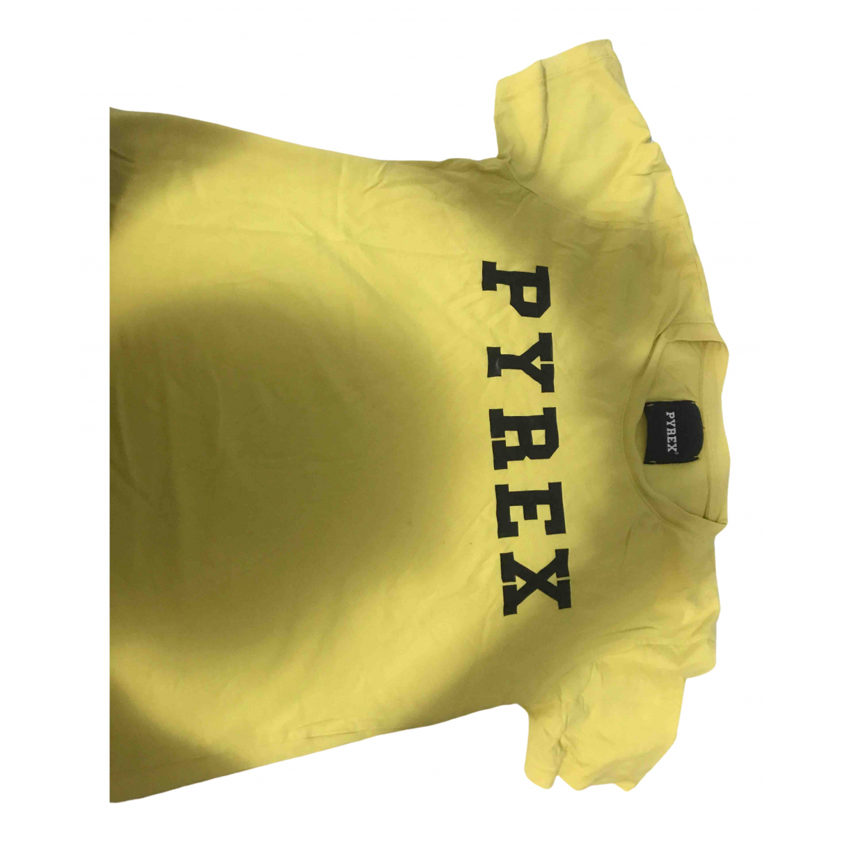 Pyrex \N Yellow Cotton T-shirts for Men M International
