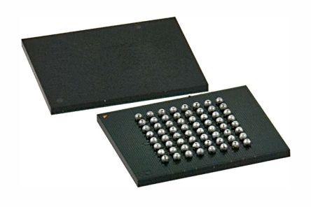 Cypress Semiconductor S29GL128P90FFIR10, CFI 128Mbit Flash Memory, 110ns, 64-Pin FPBGA