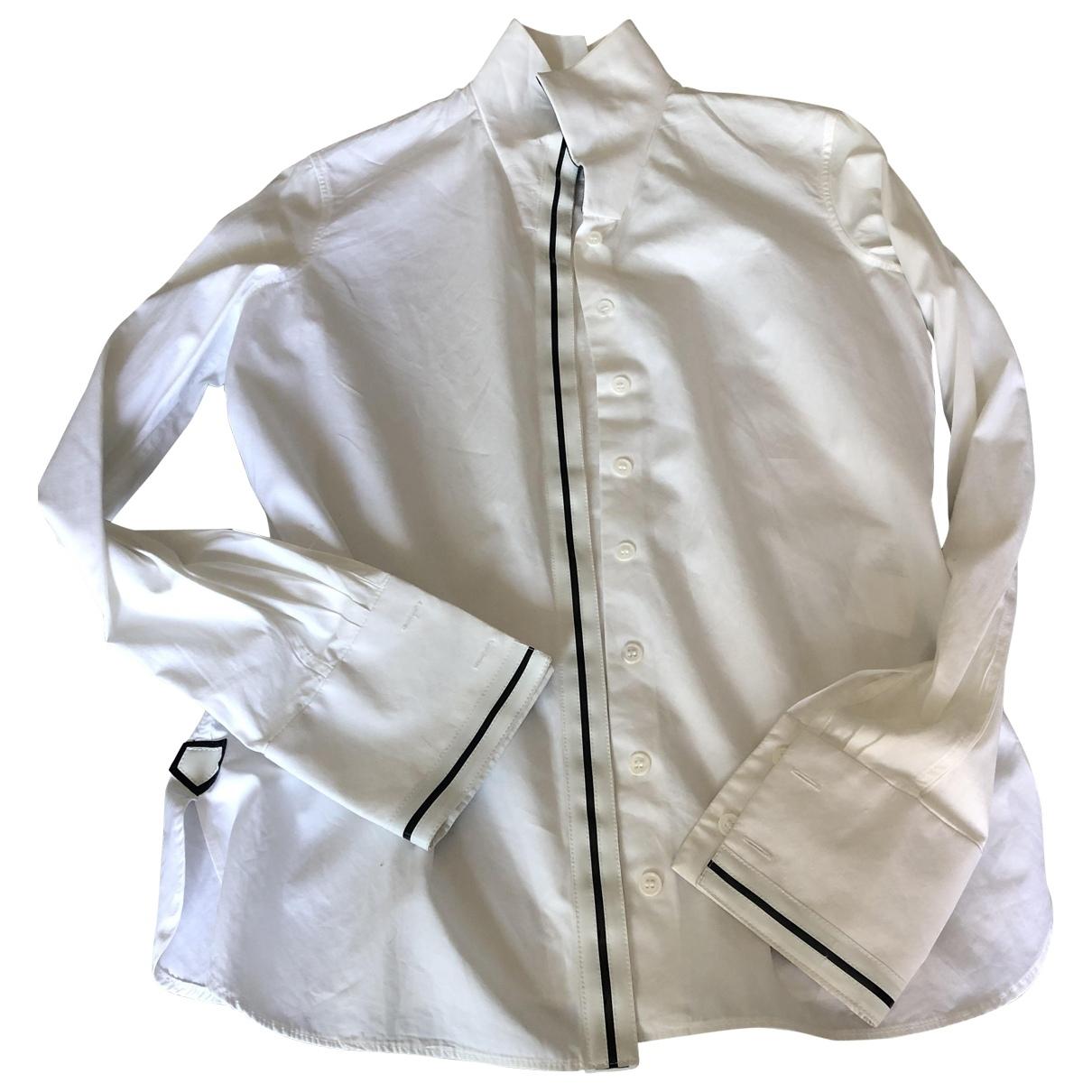 Balenciaga \N White Cotton  top for Women 38 FR