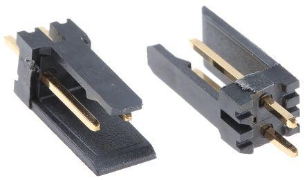 Stelvio Kontek , 475, 2 Way, 1 Row, Straight PCB Header (10)