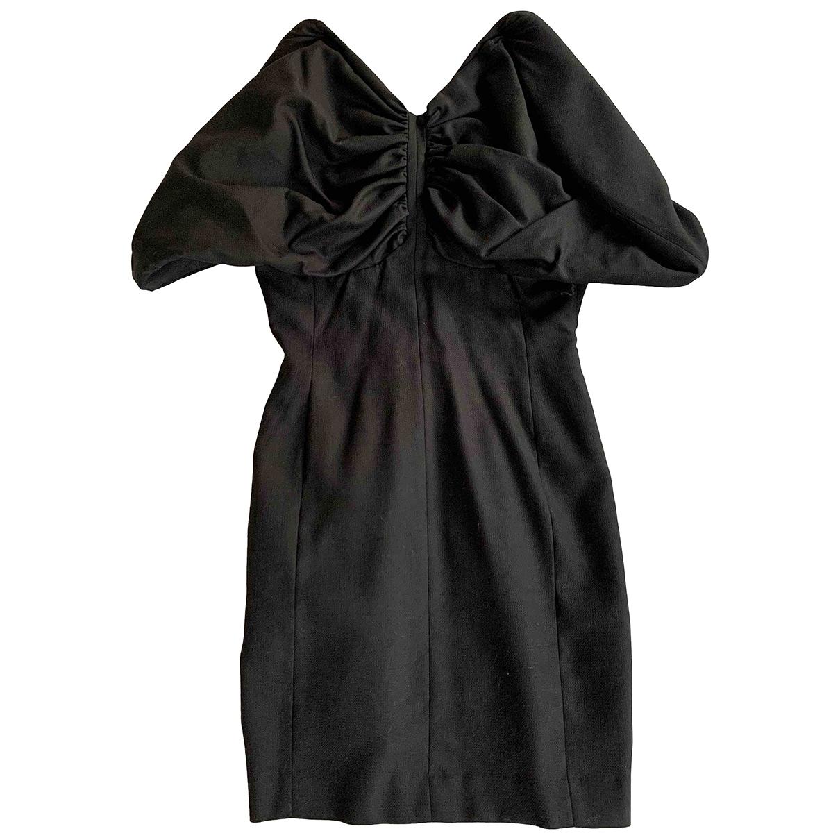 Jacquemus - Robe LAmour dun Gitan pour femme en laine - noir