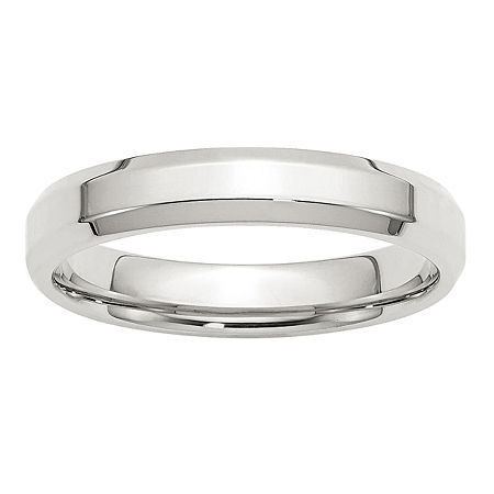 4MM Sterling Silver Wedding Band, 6 , No Color Family