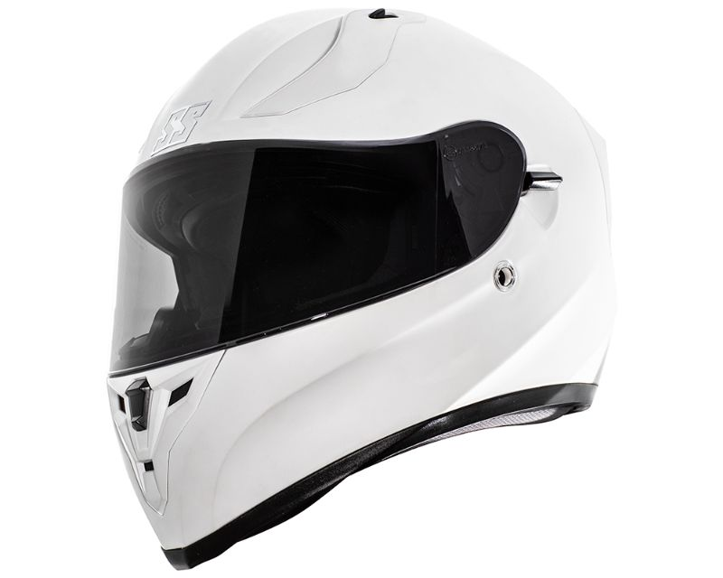 Speed and Strength 885411 SS2100 Solid Speed Helmet Protective ABS Shell Satin White XS