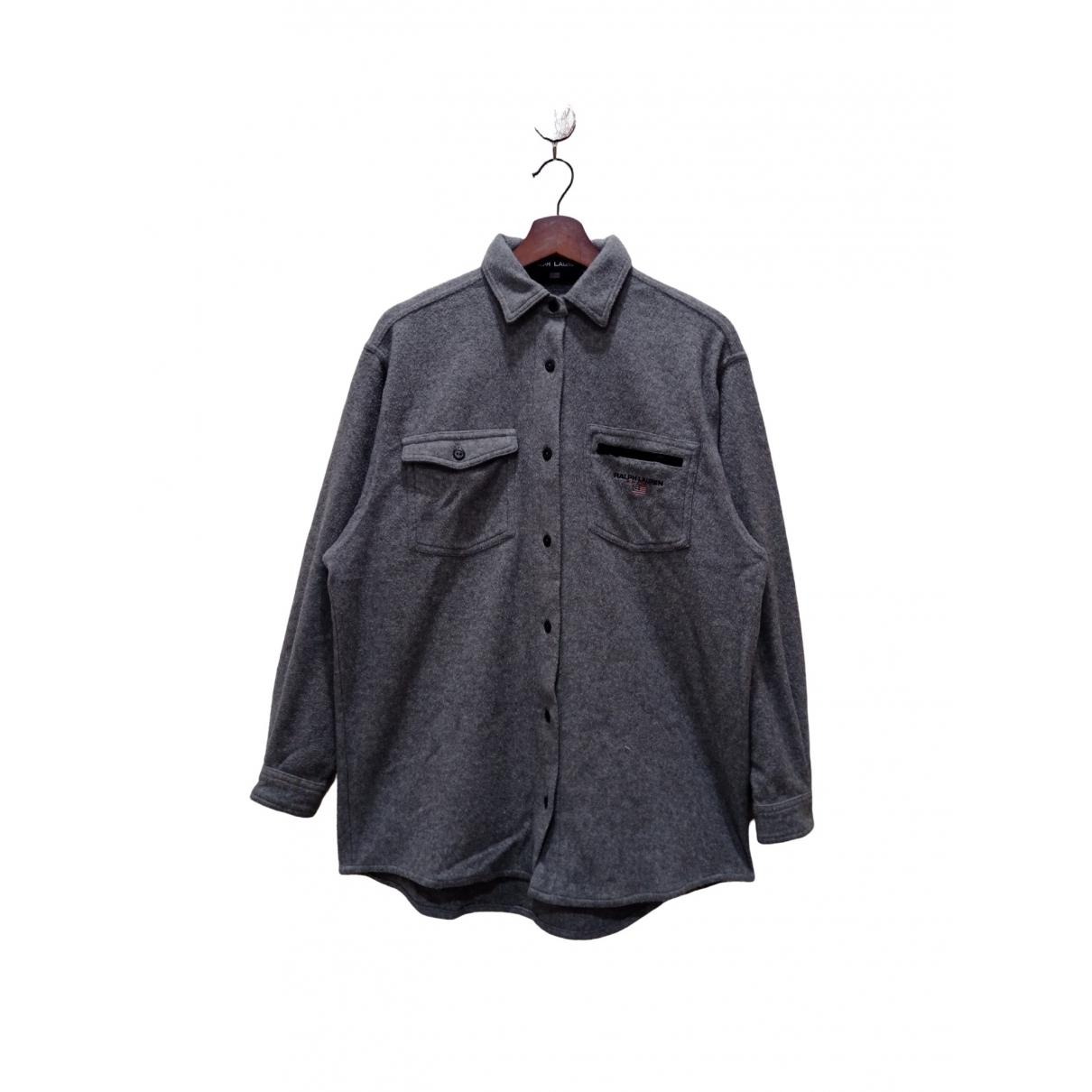 Ralph Lauren - Chemises   pour homme en coton - gris
