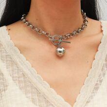 Halskette mit Ball Dekor