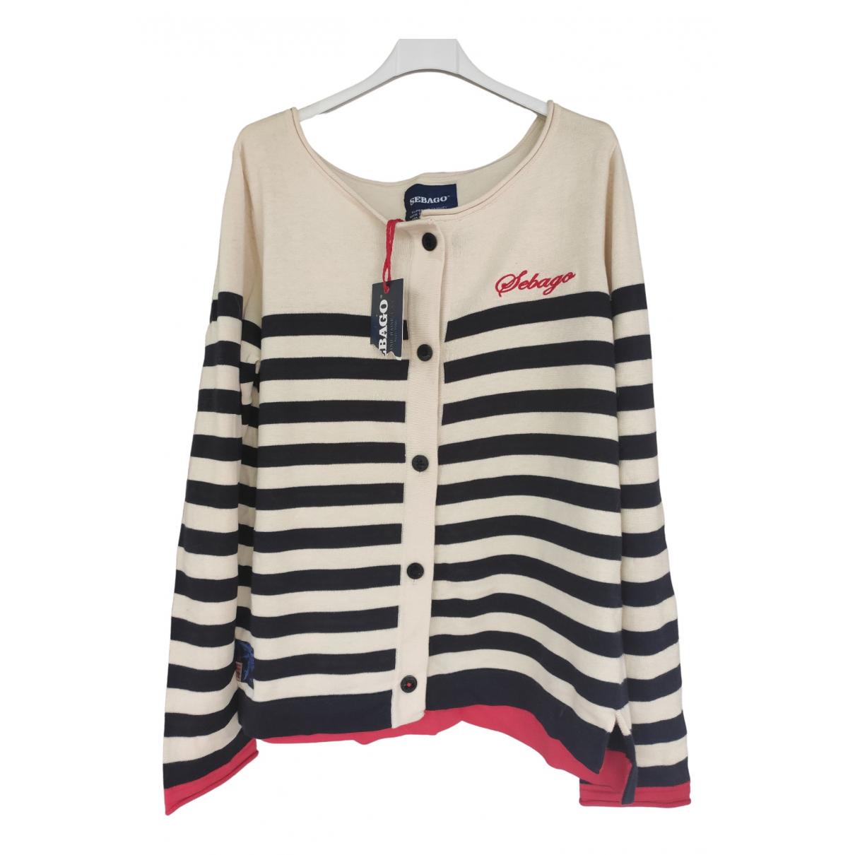 Sebago \N Ecru Cotton Knitwear for Women XL International