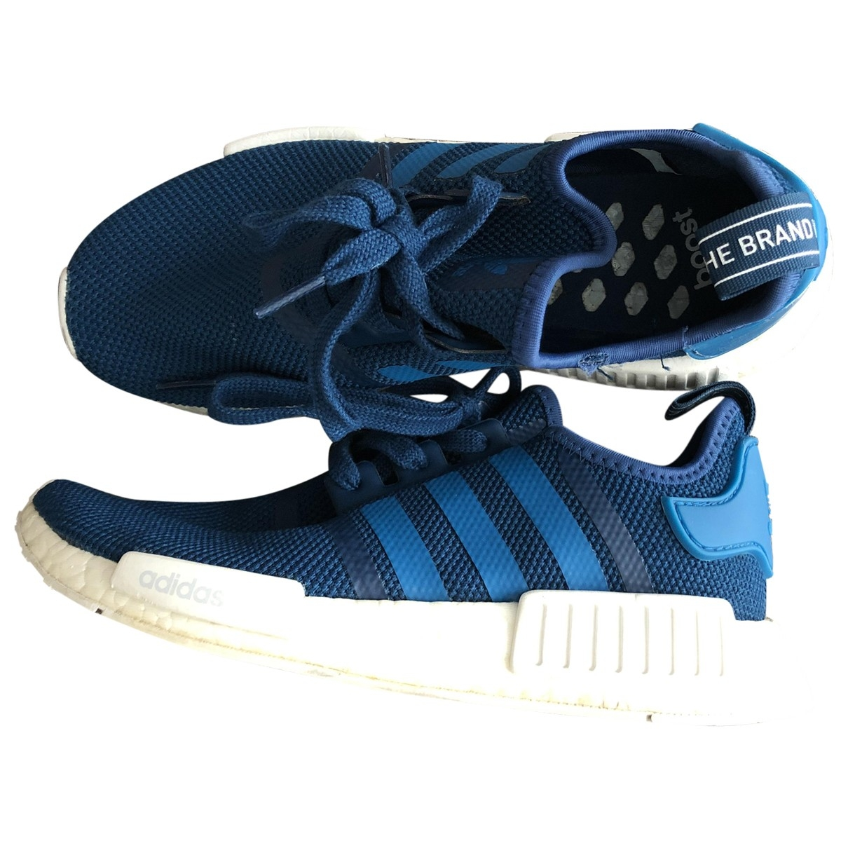 Adidas Nmd Blue Rubber Trainers for Women 40 EU