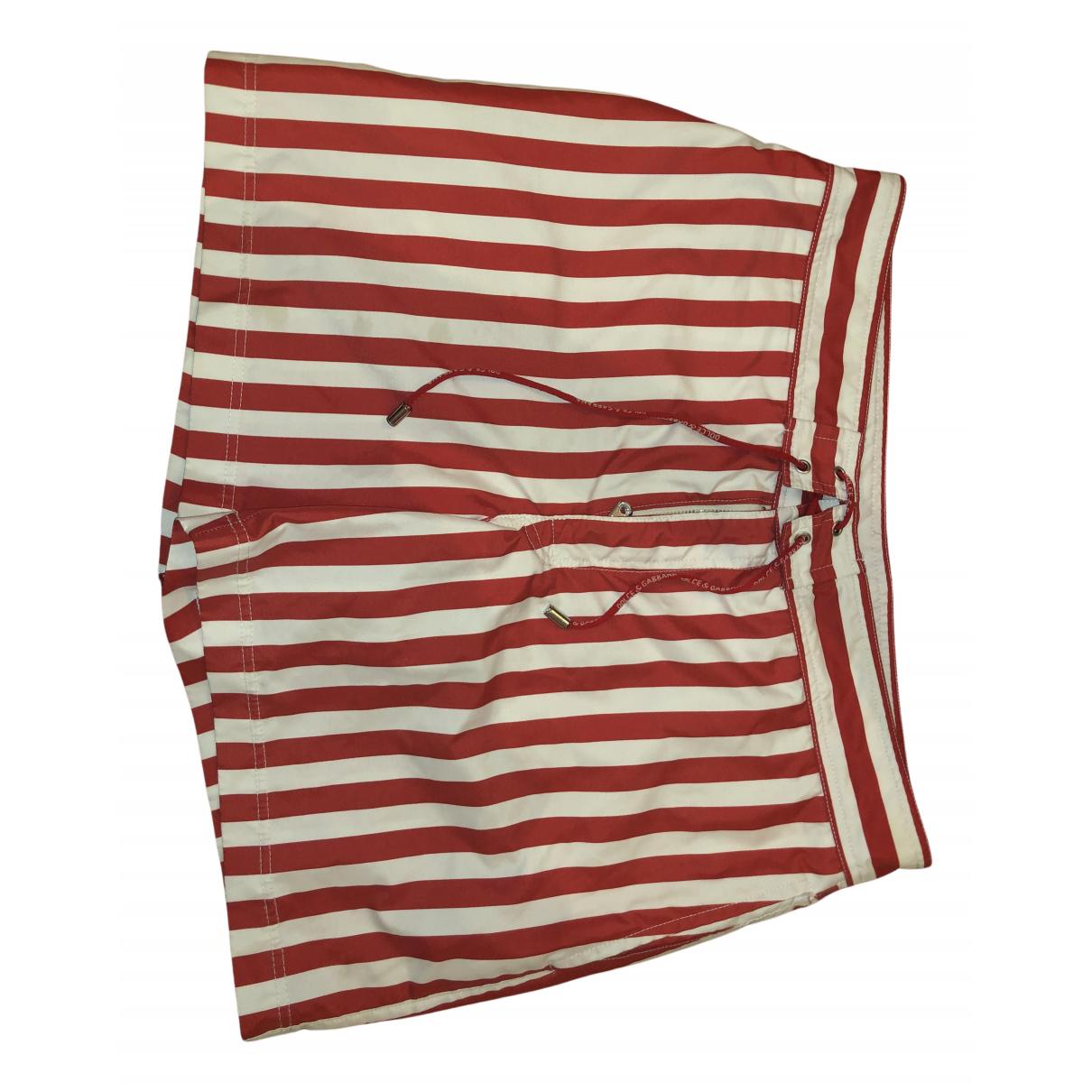 Dolce & Gabbana N Red Cotton - elasthane Swimwear for Men S International