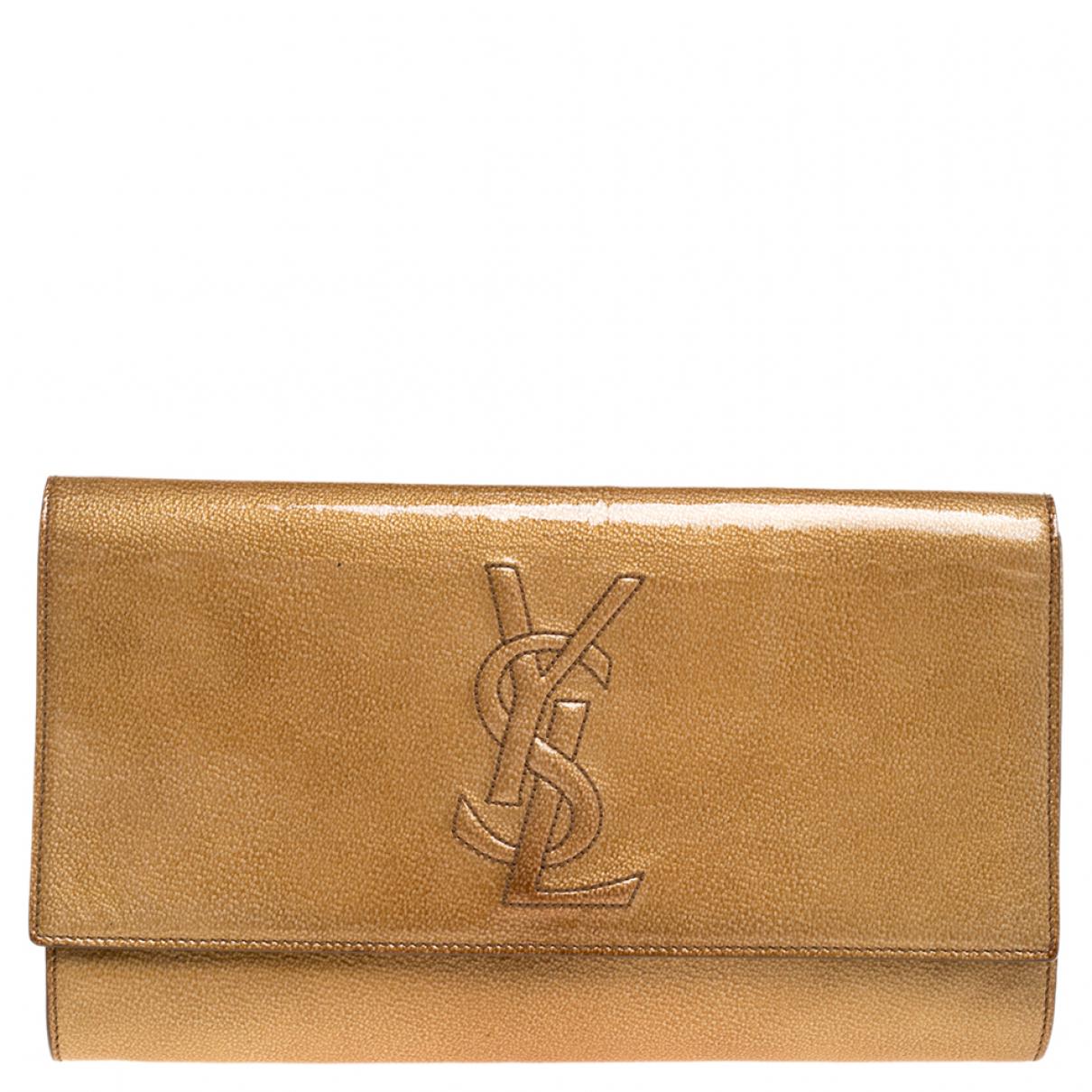 Saint Laurent N Patent leather Clutch bag for Women N