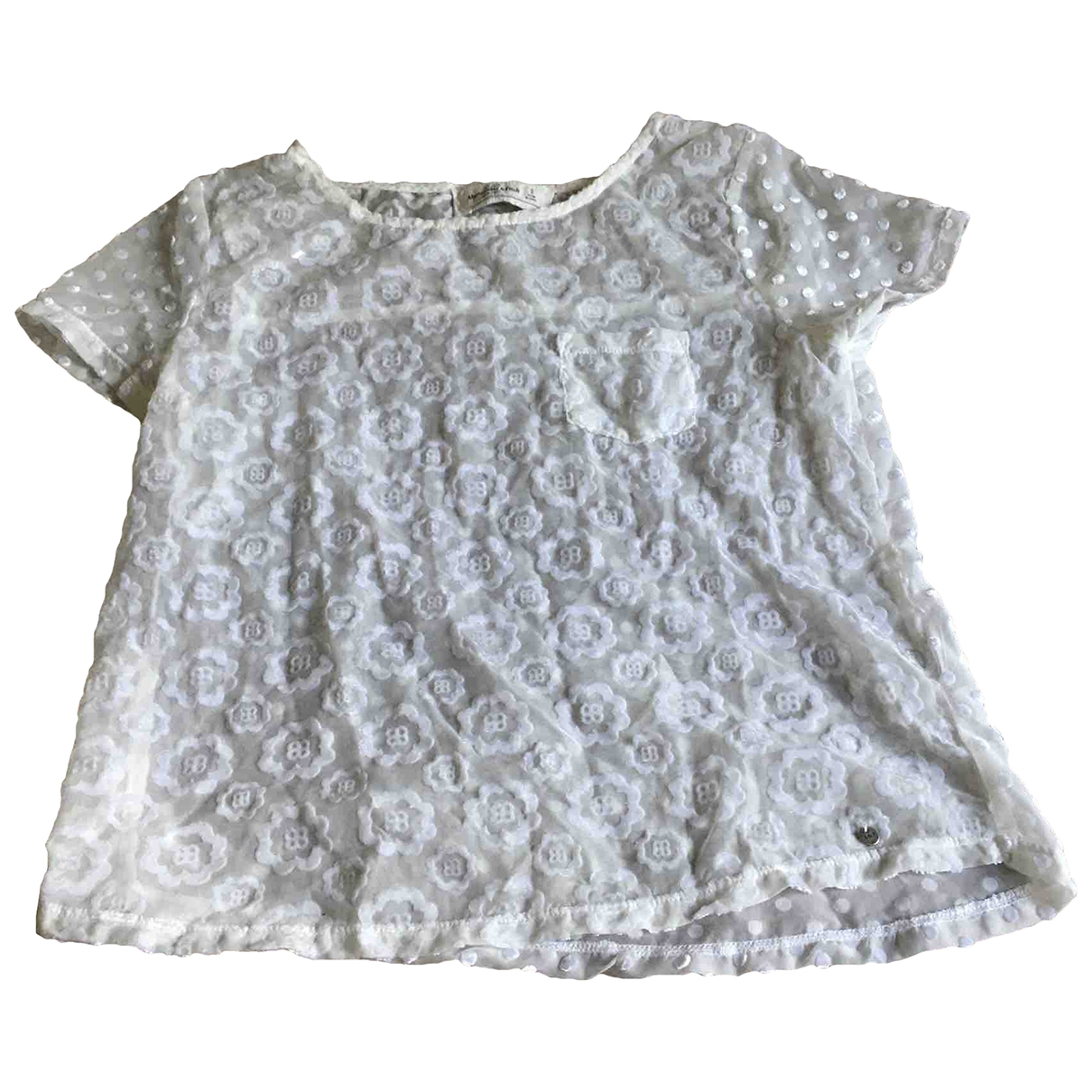 Abercrombie & Fitch \N White  top for Women S International