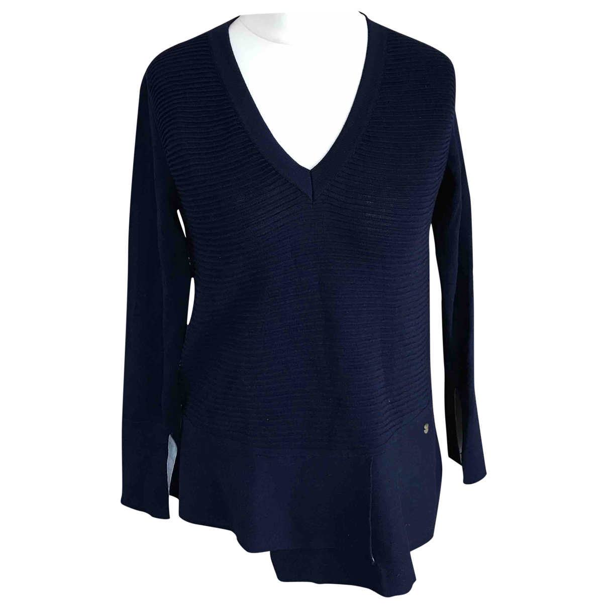 Falconeri \N Pullover in  Blau Baumwolle