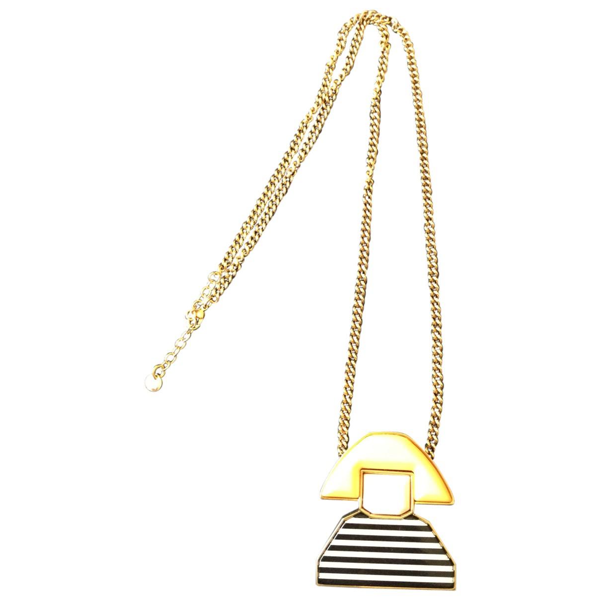 Sonia Rykiel \N Kette in  Gelb Metall