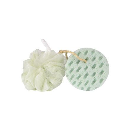 Bath Sponge, Soft Loofahs Shower Sponge for Sensitive Skin Soothing Body Sponge, 2 Pcs/Pack