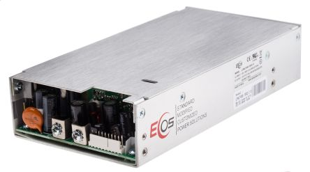EOS , 155 → 450W Embedded Switch Mode Power Supply SMPS, 15V dc, Enclosed