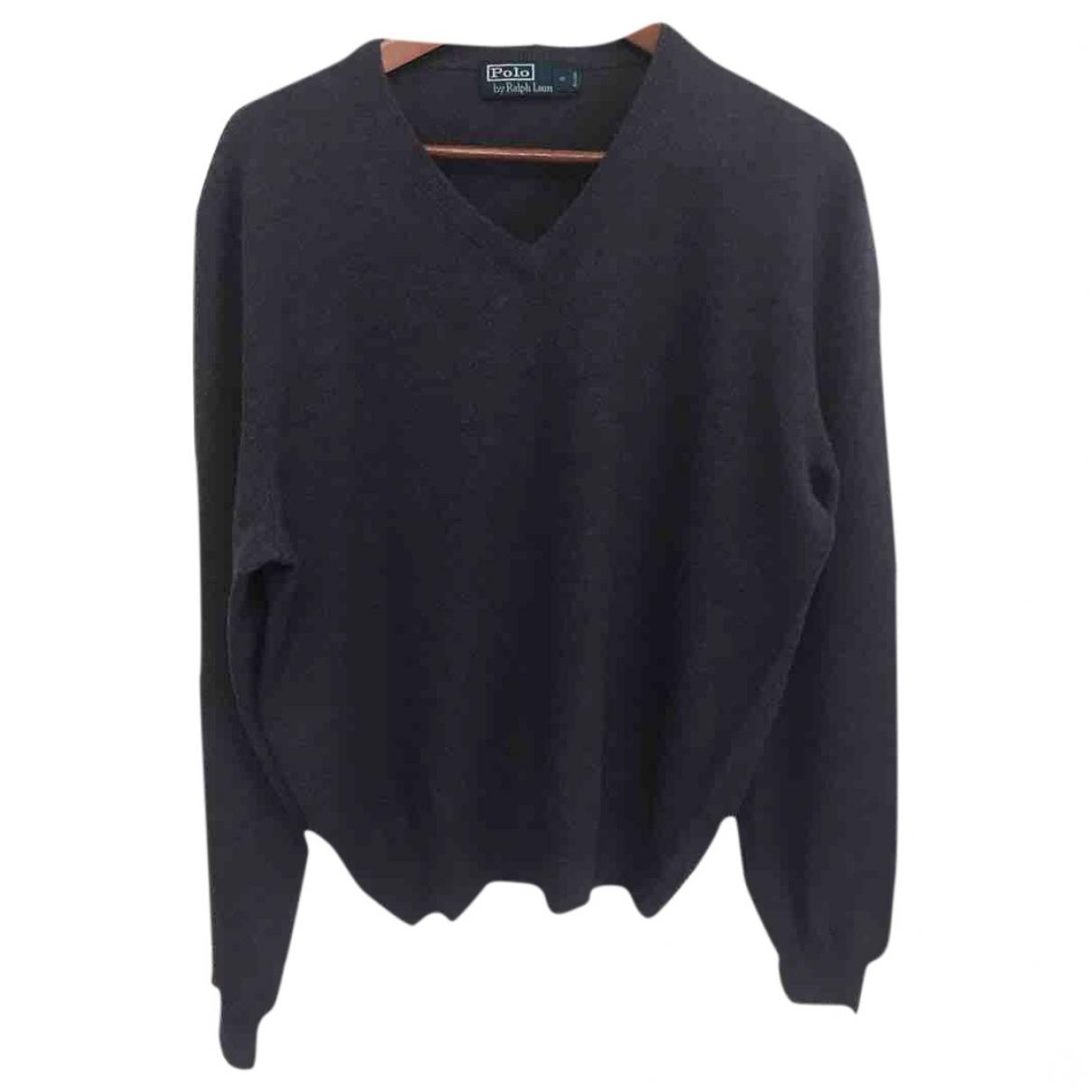 Polo Ralph Lauren \N Purple Wool Knitwear & Sweatshirts for Men L International