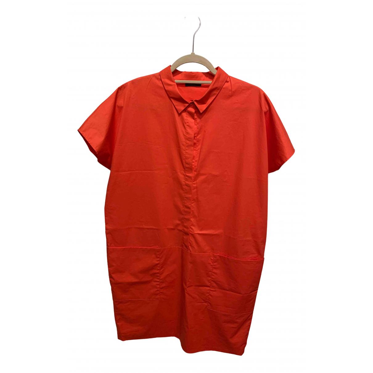 Peserico \N Kleid in  Orange Baumwolle
