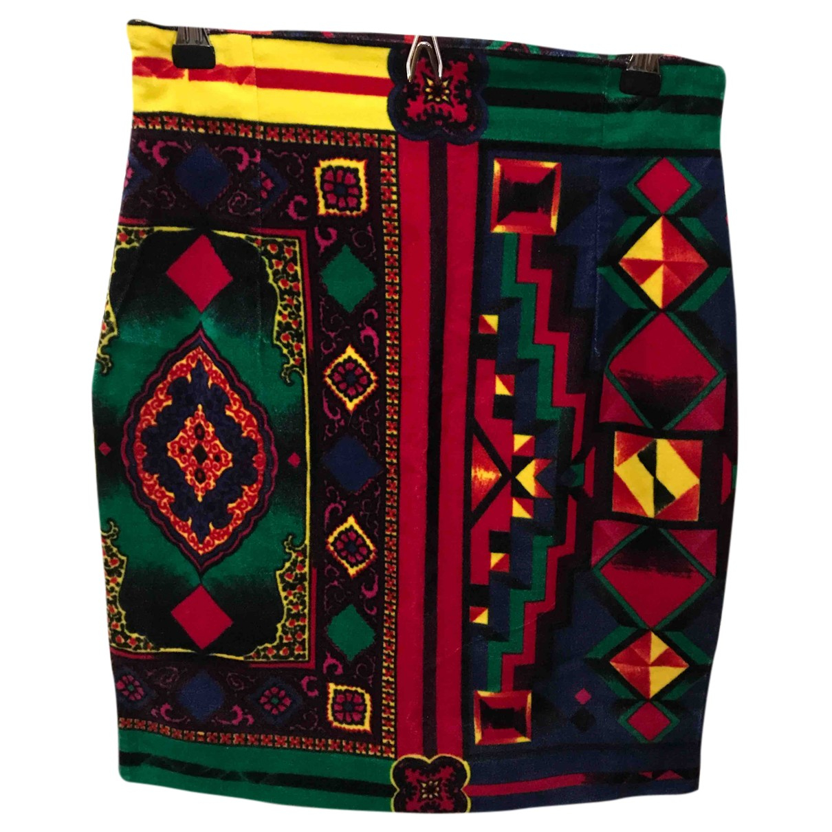 Gianni Versace - Jupe   pour femme en coton - multicolore