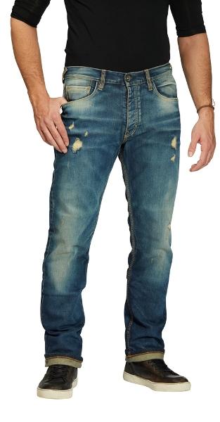 ROKKER Iron Selvage Limited Jean De Moto L32/W36