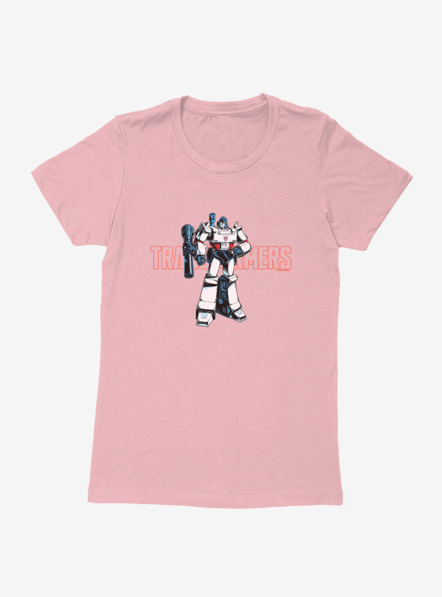 Transformers Megatron The Decepticon Womens T-Shirt