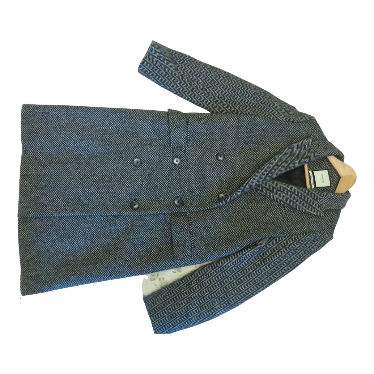 Berenice N Grey Wool coat for Women 38 FR
