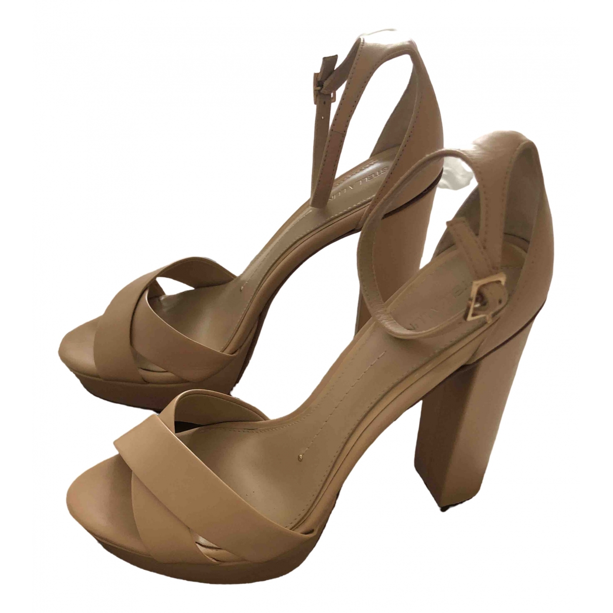 Stella Luna - Escarpins   pour femme en cuir - beige