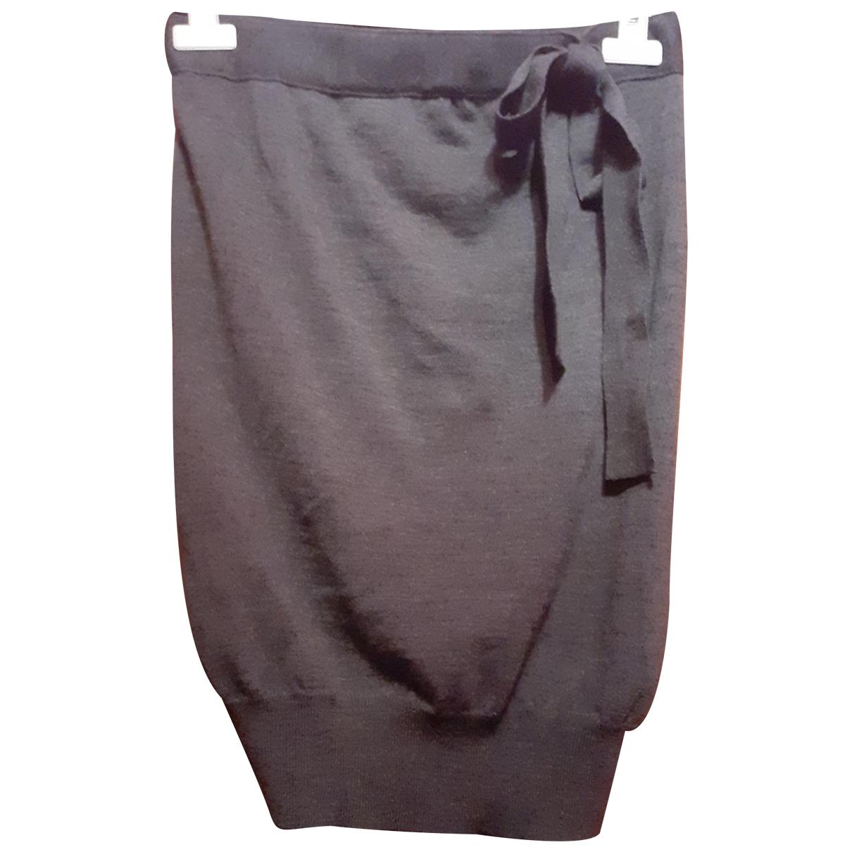 Jucca - Top   pour femme en laine - gris
