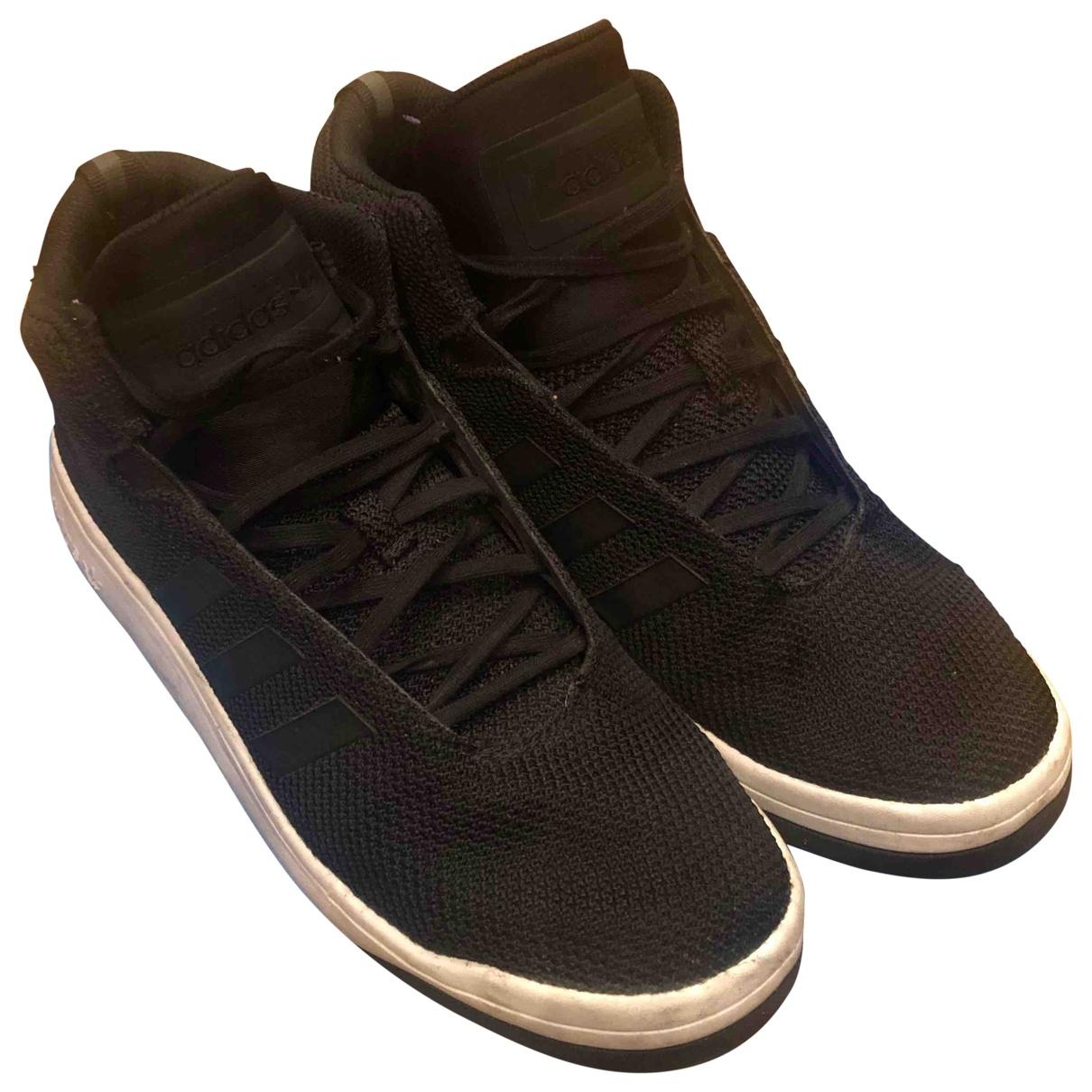 Adidas - Baskets   pour homme en cuir - noir