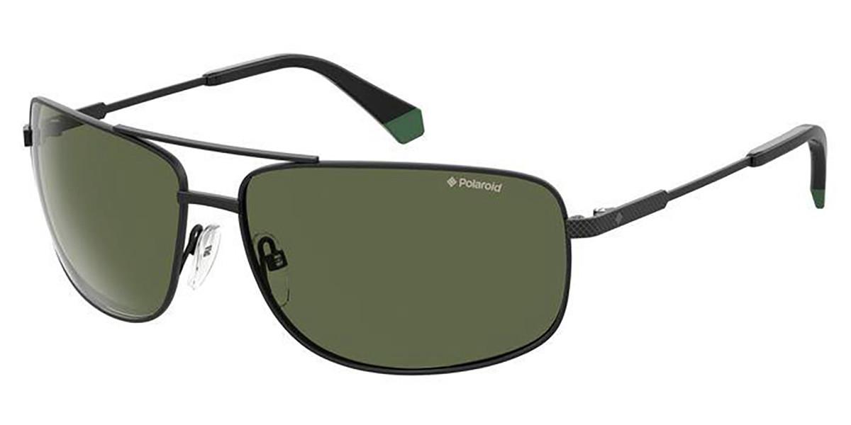 Polaroid PLD 2101/S 003/UC Mens Sunglasses Black Size 63