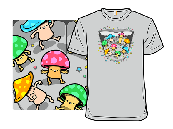 Magical Mushroom Dance T Shirt