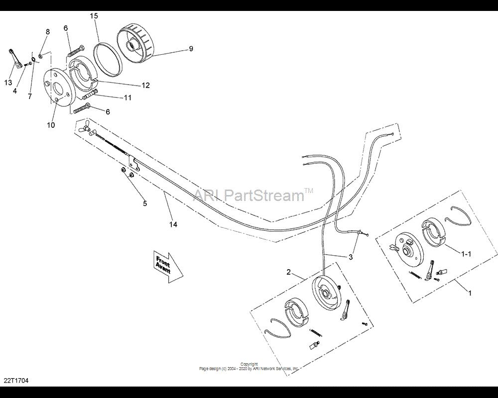 Can-AM OEM Left Front Brake Assembly