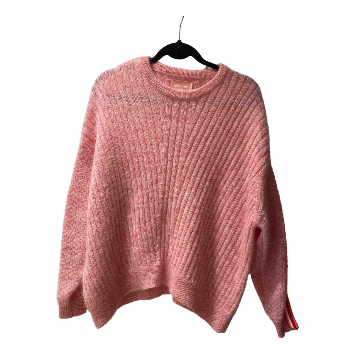 Zadig & Voltaire Fall Winter 2019 Pink Wool Knitwear for Women S International