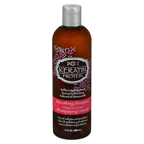 Hask Keratin Protein Smoothing Shampoo 12 Oz by Hask