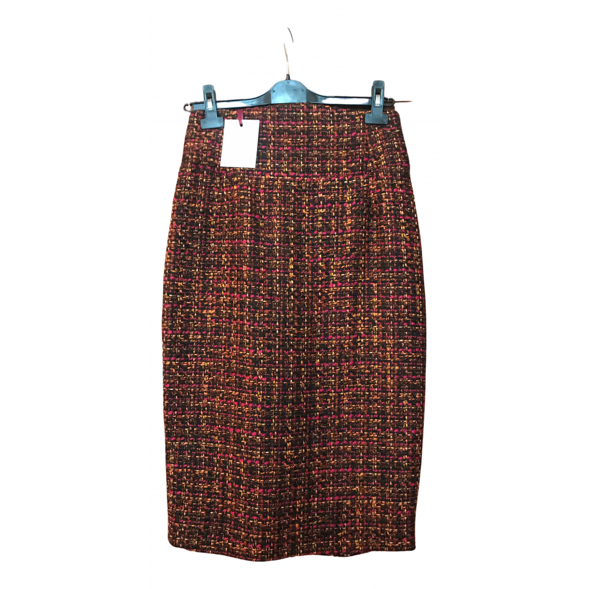 Stella Jean N Multicolour Wool skirt for Women 42 IT
