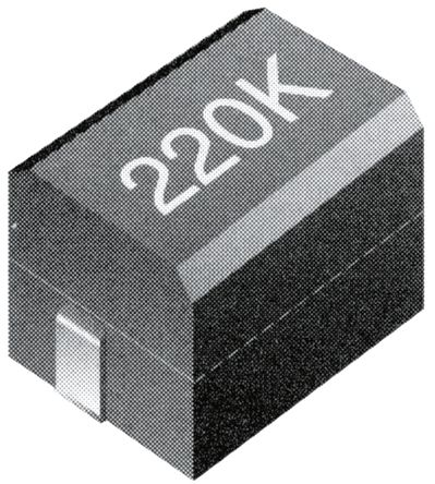 TE Connectivity , 3613C, 1812 (4532M) Shielded Wire-wound SMD Inductor with a Ferrite Core, 1 μH ±10% Wire-Wound 450mA (10)