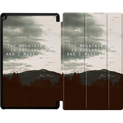 Amazon Fire HD 10 (2018) Tablet Smart Case - The Mountain Is Calling von Leah Flores