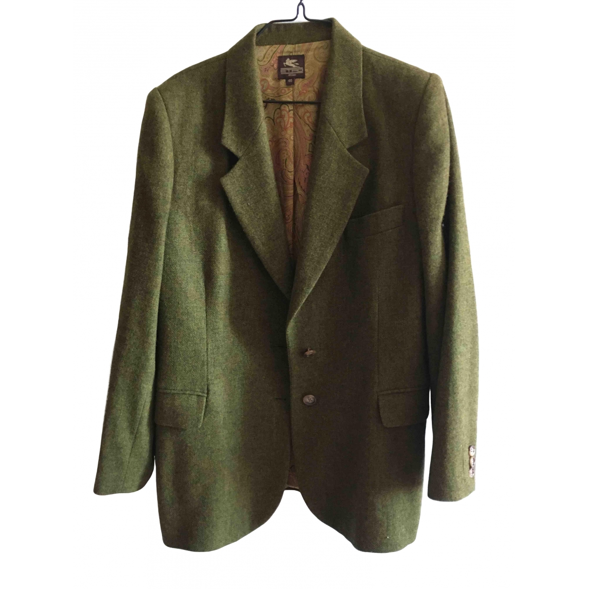 Etro \N Wool jacket for Women 46 IT