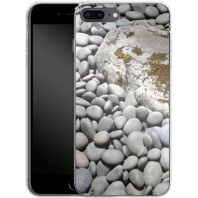 Apple iPhone 7 Plus Silikon Handyhuelle - Zen Rocks von Brent Williams