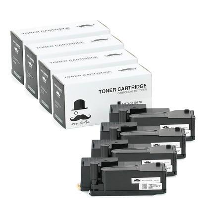 Compatible Dell 331-0778 3K9XM Black Toner Cartridge High Yield - Moustache@ - 4/Pack