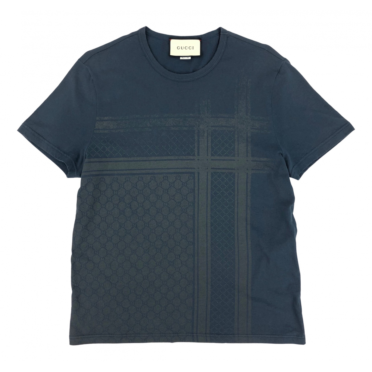 Gucci N Blue Cotton T-shirts for Men S International