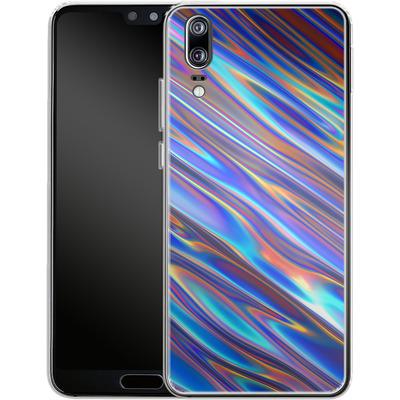 Huawei P20 Silikon Handyhuelle - Iris von Danny Ivan