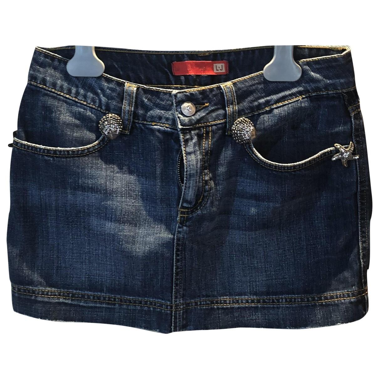 Liu.jo \N Rocke in  Blau Denim - Jeans
