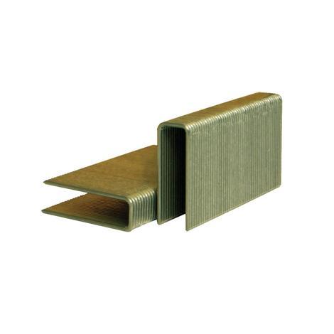 Stanley 1-1/2 In. 15-1/2 Gauge 1/2 In. Crown Hardwood Flooring Staples
