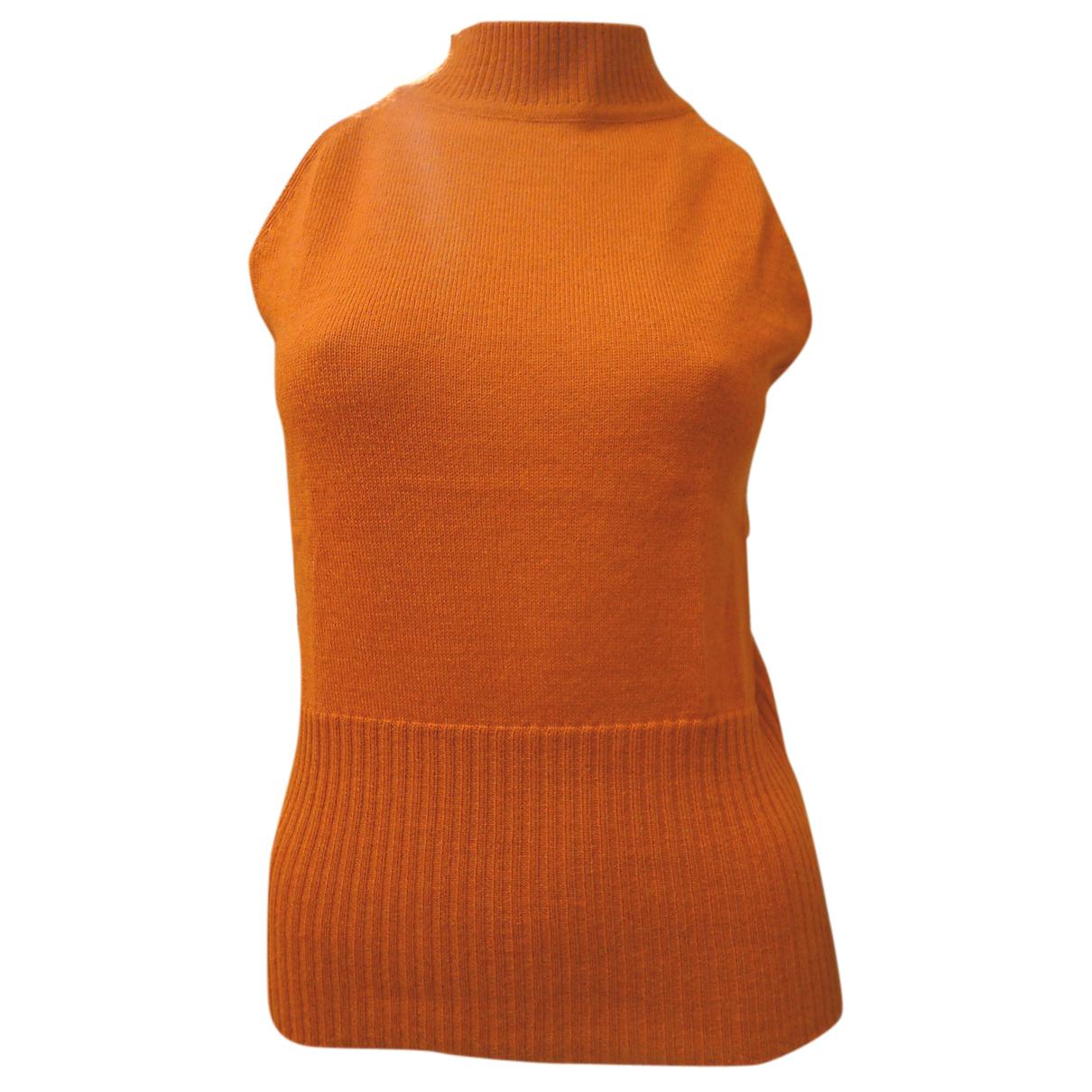 Autre Marque - Top   pour femme en laine - orange