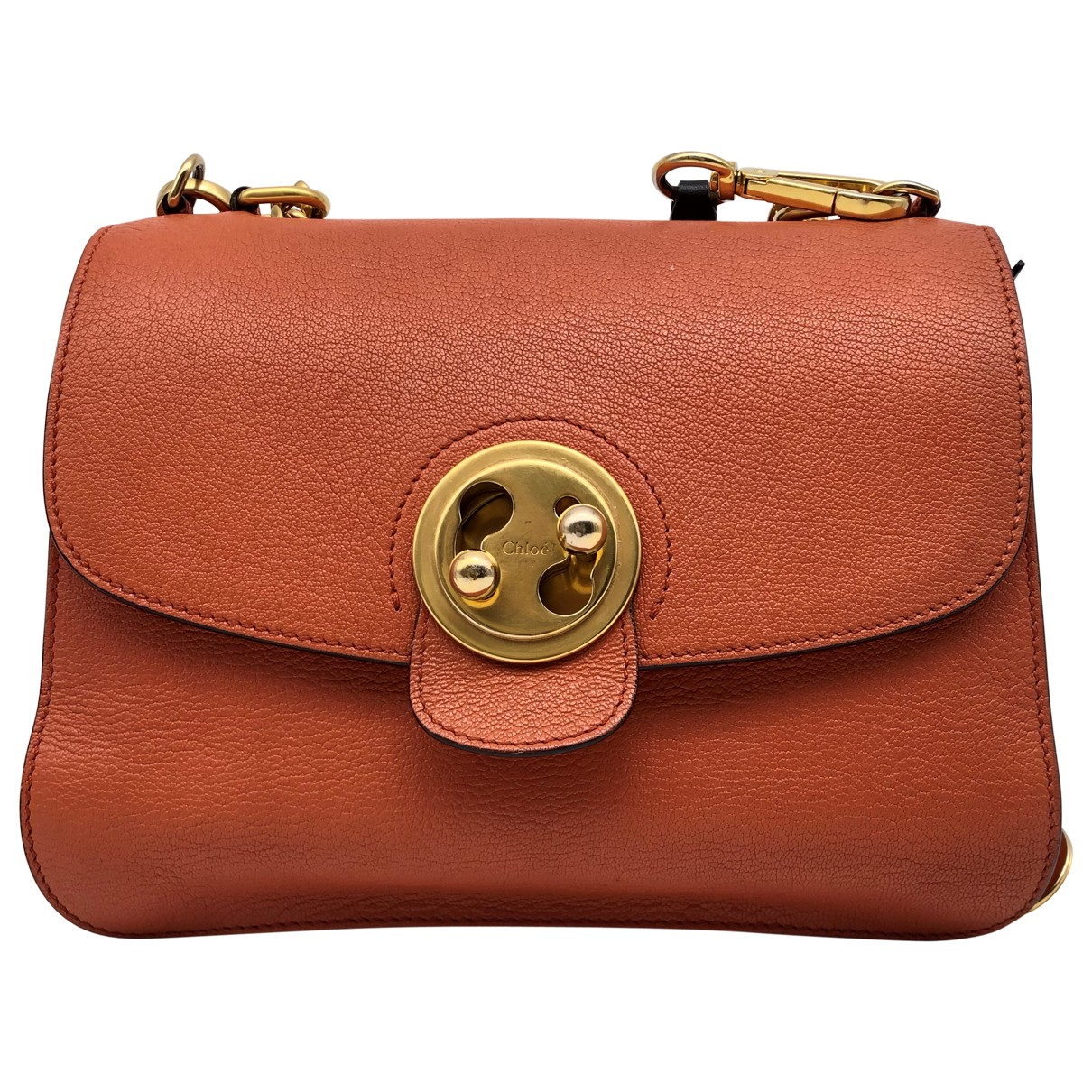 Chloé Mily Orange Leather handbag for Women N