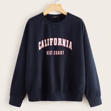 California Graphic Pullover Sweatshirt
