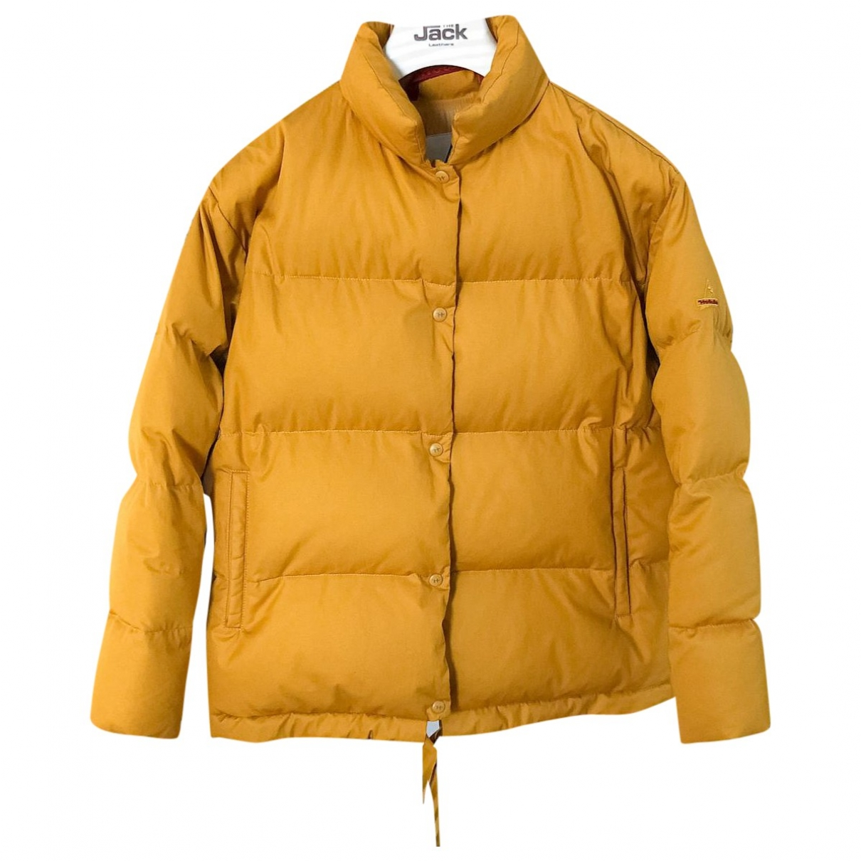 Non Signé / Unsigned \N Yellow Cotton coat for Women M International
