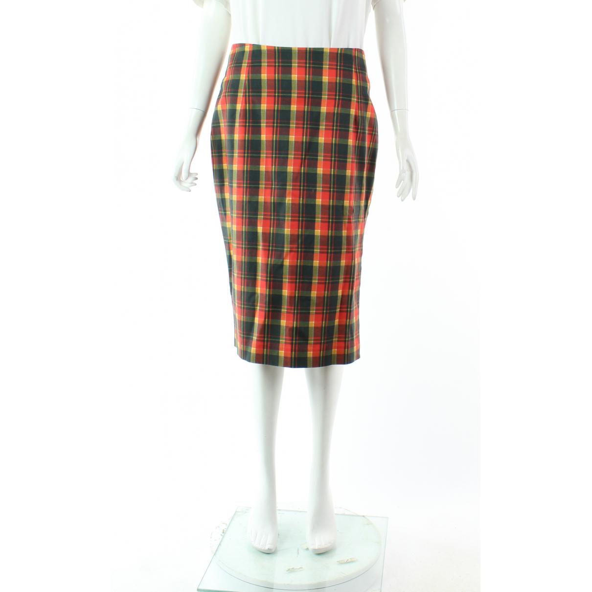 Altuzarra \N Red Cotton skirt for Women 42 FR