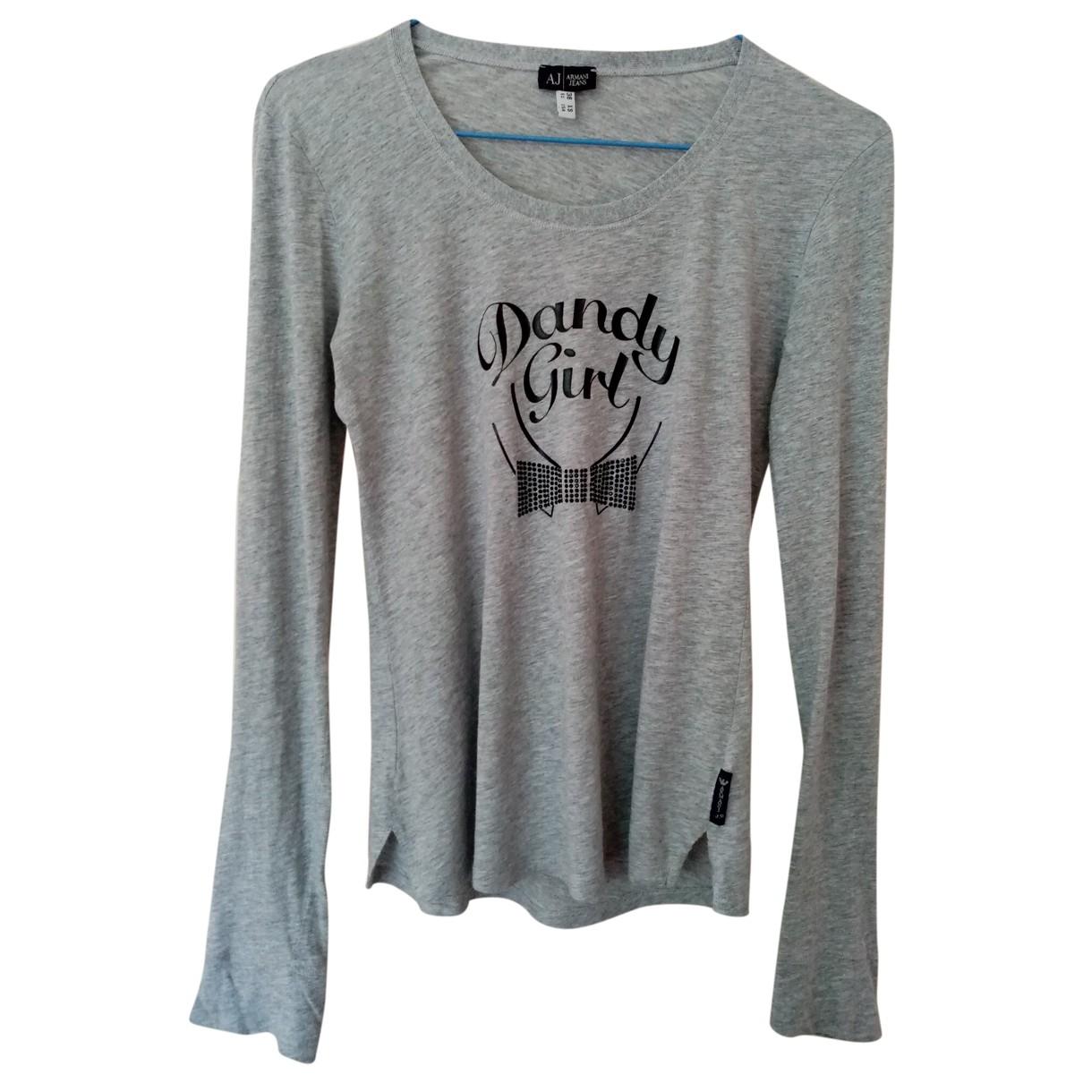 Armani Jeans \N Top in  Grau Baumwolle