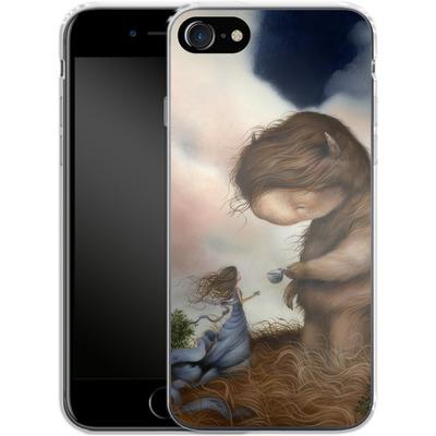 Apple iPhone 8 Silikon Handyhuelle - Kindered Spirits von Dan May