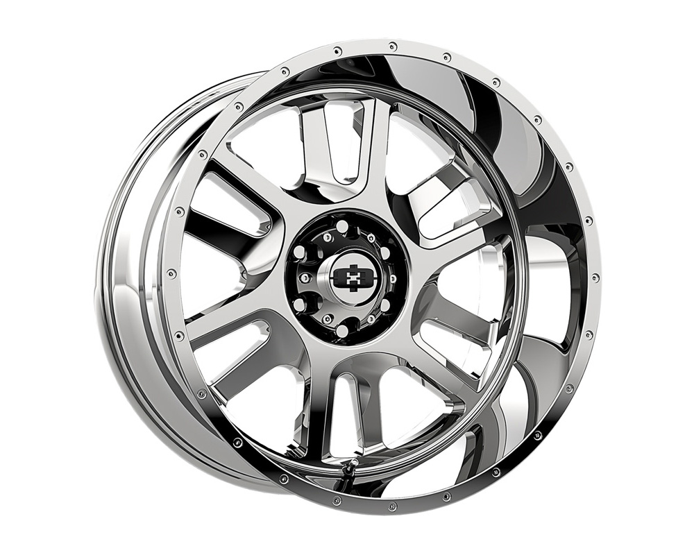 Vision Split Chrome Wheel 20x12 6x135 -51